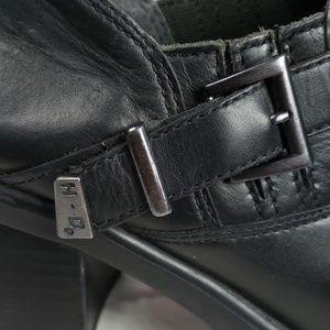 Harley-Davidson Shoes - Harley Davidson Ankle Boots Black Leather Size 10